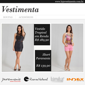Vestimenta - newsletter