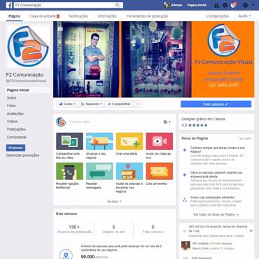 F2 Comunicação Visual - Fanpage