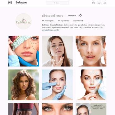 Delineare - Cirurgia Plástica e Laser  - Instagram