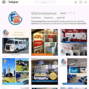F2 Comunicação Visual - Instagram
