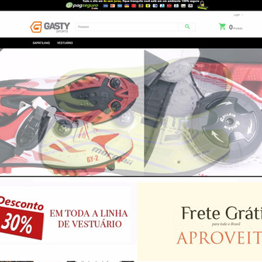 Gasty Sports - Ecommerce