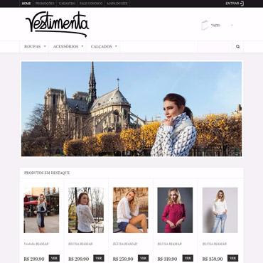 Loja Vestimenta - Ecommerce