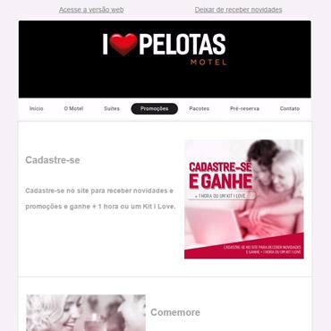 I Love Pelotas Motel - Email Marketing