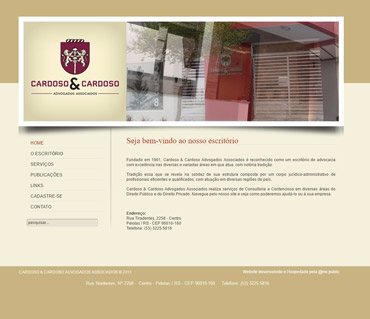 Sites Institucionais