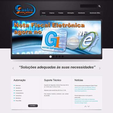 Castro Sistemas - Site Institucional